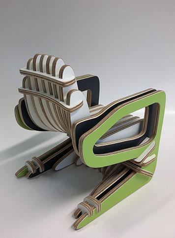 Detailstudie Stuhl Objektdesign