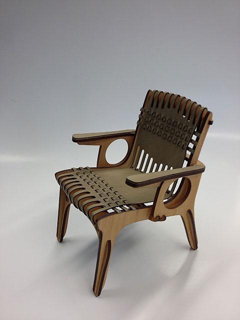 Stuhlmodell aus der Modellwerkstatt der HGH